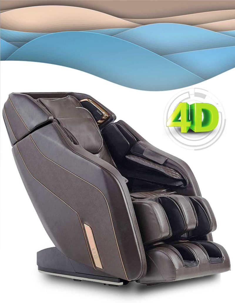 Formatica iQ 4D Massage Chair in Brown