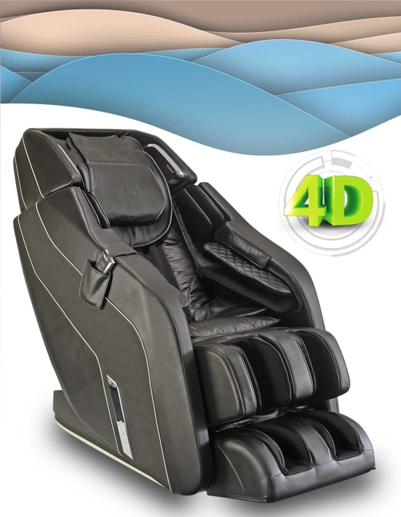 Formatica iQ 4D Massage Chair in Black